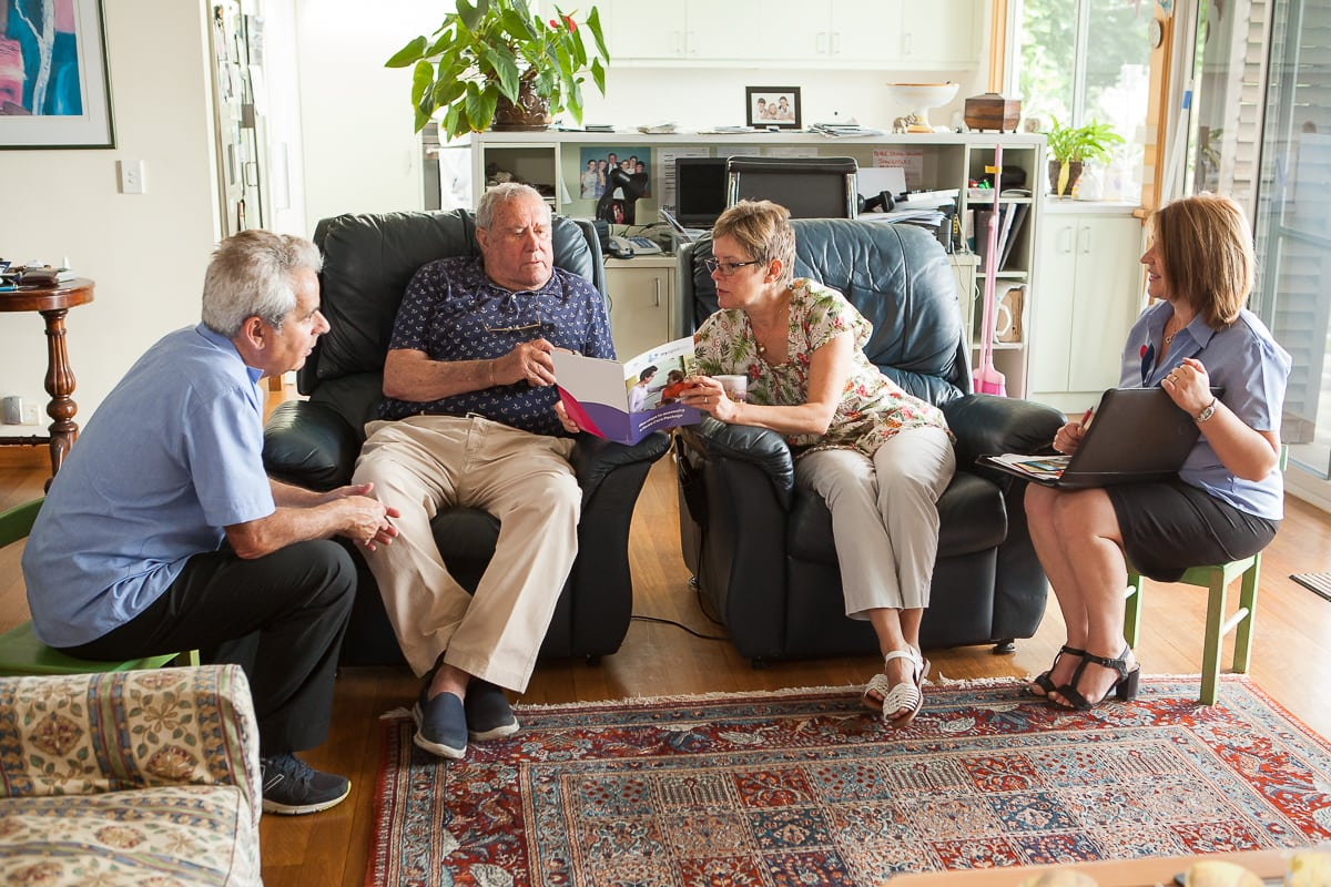 Asking a Care Worker Questions