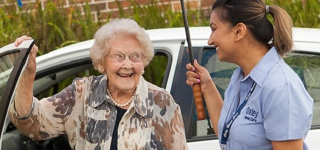 Home Care Transport with Oxley Home Care