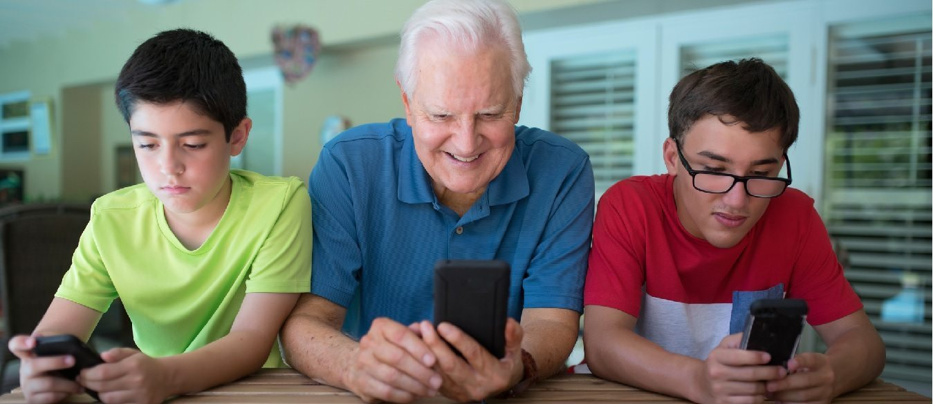 Australia's elderly using apps and phones to socially interact